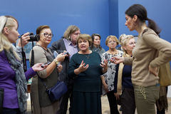 Deputy director of Russian Museum Evgenia Petrova Stock Photos