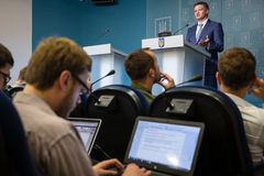 Deputy Head of the Presidential Administration of Ukraine Dmytr Royalty Free Stock Photography