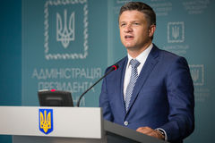 Deputy Head of the Presidential Administration of Ukraine Dmytr Stock Photos