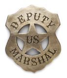 Deputy Marshal Badge Stock Image