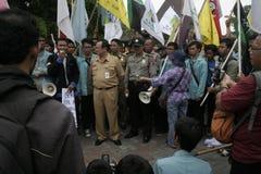 Deputy mayor solo, Purnomo Achmad Convey oration Royalty Free Stock Image