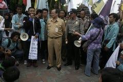 Deputy mayor solo, Purnomo Achmad Convey oration Royalty Free Stock Images
