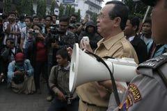 Deputy mayor solo, Purnomo Achmad Convey oration Royalty Free Stock Photos