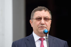 Deputy Minister of construction and housing and communal services of Russia Oleg Betin Stock Photography
