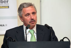 Deputy Minister of Environment Giannis Maniatis Stock Photography