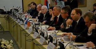 Deputy Prime Minister of Russia, Dmitry Rogozin. Suzdal, Russian Federation. November 3rd 2016 - Deputy Prime Minister of Russia, Dmitry Rogozin Royalty Free Stock Images