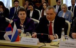 Deputy Prime Minister of Russia, Dmitry Rogozin Stock Photography