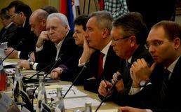 Deputy Prime Minister of Russia, Dmitry Rogozin Royalty Free Stock Photos