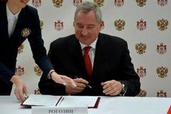 Deputy Prime Minister of Russia, Dmitry Rogozin Stock Photos