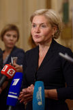 Deputy Prime Minister of Russian Federation Olga Golodets Royalty Free Stock Image