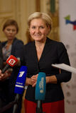 Deputy Prime Minister of Russian Federation Olga Golodets Royalty Free Stock Photos