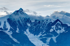 DEQIN, CHINA - Aug 3 2014: Evening View of Meili Snow Mountain N Stock Photo