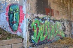 Dequindre Rżnięty Greenway w Detroit Zdjęcie Stock