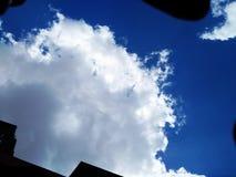 Der Ägypten-Himmel lizenzfreie stockfotografie
