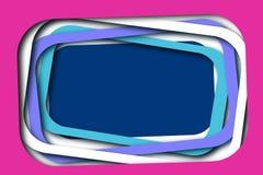 Der überlagerte Spaß gestaltet Hintergrund Rosa, purpurrot, blau lizenzfreie stockbilder