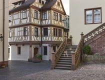 Der более vier Gekrönten Haus в Wertheim Стоковые Изображения RF