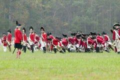 Der 225. Jahrestag des Sieges bei Yorktown, Stockfotos