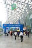 Der 39. Grundbesitz-Frühling angemessen in Chengdu Stockfotos