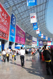 Der 39. Grundbesitz-Frühling angemessen in Chengdu Lizenzfreie Stockbilder