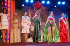 Der 51. Fehlinternationale Schönheitsfestzug 2011 Lizenzfreie Stockfotos