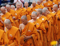 Der 82. Geburtstag von H.M. der König von Thailand Stockbilder
