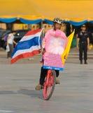 Der 82. Geburtstag von H.M. der König von Thailand Lizenzfreies Stockfoto