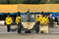 Der 82. Geburtstag von H.M. der König von Thailand Stockbild