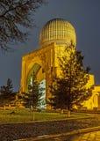 Der Abend in der Moschee Lizenzfreie Stockfotos