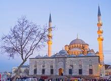 Der Abend in Istanbul Lizenzfreies Stockbild