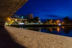 Der Abend nach Sonnenuntergang Stockfotografie