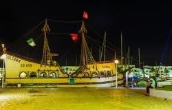 Der Abendweg in EL Kantaoui Lizenzfreie Stockfotos