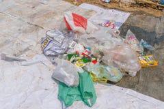 Der Abfallbeseitigungsteich Stockfotografie