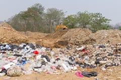 Der Abfallbeseitigungsteich Lizenzfreie Stockfotografie