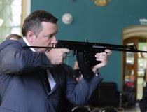 Der Abgeordnete der Staatsduma der 6. und 7. Einberufungen von der Partei von LDPR Alexander Starovoitov Stockfotos