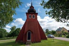 Der abgetrennte Glockenturm von Amsberg-Kapelle Stockfotografie