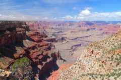 Der Abgrund, Grand Canyon Lizenzfreie Stockfotos