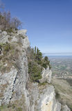 Der Abgrund von San Marino Stockfoto