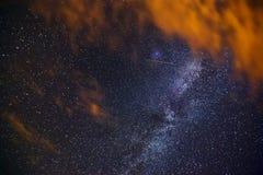 Der Abschluss oben der Milchstraße Stockfoto