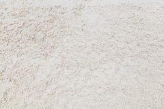 Der Abschluss oben des rohen Salzes auf dem Salzgebiet für Hintergrund Lizenzfreies Stockbild