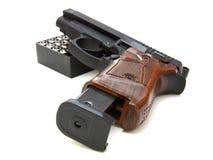 Der Abschluss oben einer Pistole Stockfotografie