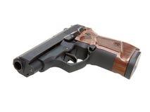 Der Abschluss oben einer Pistole Lizenzfreie Stockfotos