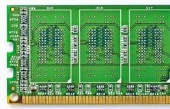 Der Abschluss oben von DDR-RAM Stockfoto