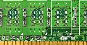 Der Abschluss oben von DDR-RAM Stockfotografie