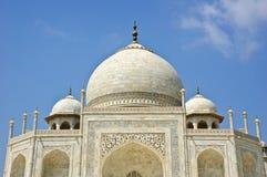 Der Abschluss oben von Taj Mahal, Indien Lizenzfreie Stockbilder