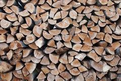 Brennholzklotz Lizenzfreie Stockfotos