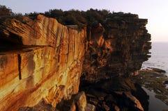 Der Abstand am Sonnenaufgang Stockfotografie