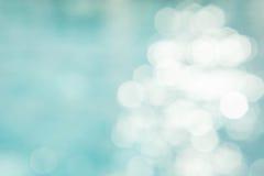 Der abstrakte Farbunschärfehintergrund auf bokeh Art Stockbild