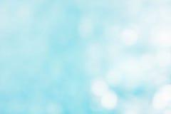 Der abstrakte Farbunschärfehintergrund auf bokeh Art Lizenzfreies Stockbild