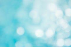 Der abstrakte Farbunschärfehintergrund auf bokeh Art Lizenzfreies Stockfoto