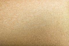 Der abstrakte Goldfarbeffekthintergrund Stockbild
